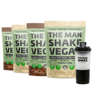 Vegan Buy 3 get 1 free + Shaker